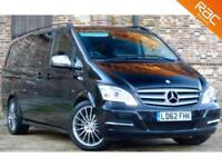 2012 62 MERCEDES-BENZ VIANO 3.0 122 CDI BLUEEFFICENCY AVANTGARDE 5D AUTO 224 BHP