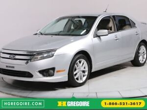 2012 Ford Fusion  SEL A/C GR ELECT MAGS BLUETOOTH CUIR