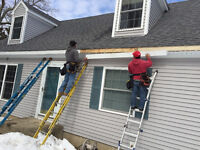 Need your gutter replaced? Want seamless gutters? We can help