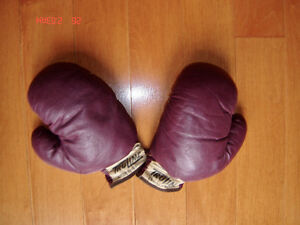 Vintage Child's Boxing Gloves - Truline Eaton's of Canada-1940's