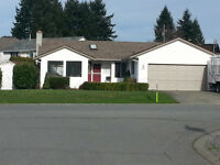 Spacious 3 bd 2 b rancher in Ladysmith, BC.