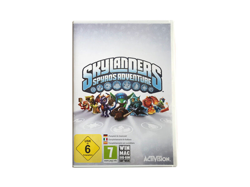 Skylanders Spyros Adventure für Mac & Microsoft Windows PC DVD-ROM Spiel