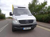 2013 Mercedes-Benz Sprinter 313 LWB Fridge Van + IDEAL CHASIS CAB RECOVERY TRUCK