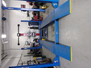 Oil change plus wheel alignment $80