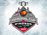 Memorial Cup Tickets to Sunday Finals
