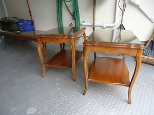 SOLID WOOD COFFEE & END TABLES