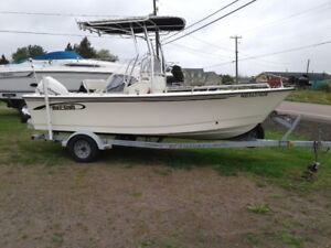 2004 1820 maycraft centerconsole boat