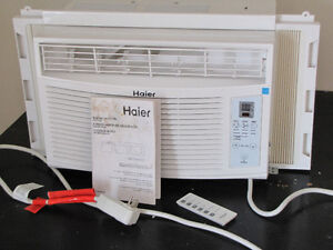 8000 btu Haier window air conditioner