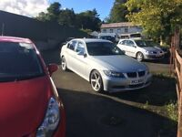 2007 bmw 320d only 77k miles 19 ins alloys lovely clean car drives brilliant