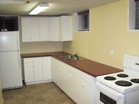 U of A 2 Bdrm Bsmt Suite - Bright & Sunny - Steps to Campus!