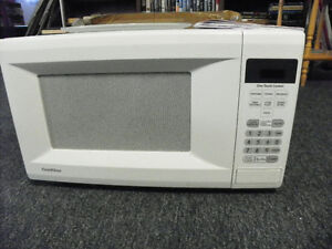 White Gold Star Microwave