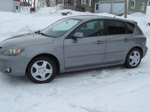 2006 Mazda 3 TRÈS BAS KM moins de 60000 km