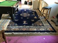 Large Chinese rug, Authentic collectible , antique hand made