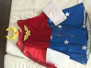 Wonder Woman costume girls