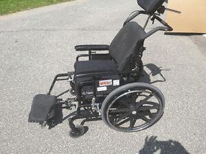 Maple Leaf super tilt wheel chair