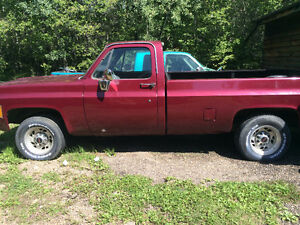 1979 Gmc 3/4 Ton with A 454  on propane