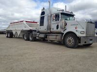 Class 1 truck driver with gravel hauling experience