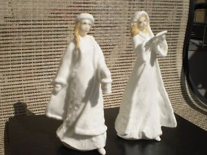 2-Royal Doulton Figurines- Christmas Carols & Christmas Lantern Kitchener / Waterloo Kitchener Area image 1