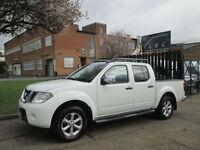 2011 11-REG Nissan Navara 2.5dCi AUTO Tekna Premium Spec. SATNAV. 188BHP. 4WD.PX