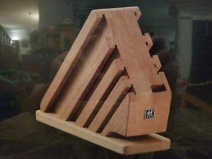 NEW Zwilling J.A. Henckels TWIN Natural Wood Knife Block