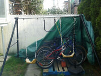 "SWING SET GOOD CONDITION ""FREE"""