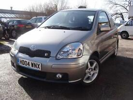 2004 04 Toyota Yaris 1.5 VVT-i T Sport ***ONLY 54,000 MILES FROM NEW***