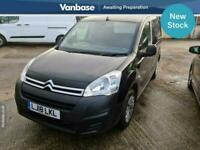 2018 Citroen Berlingo 1.6 BlueHDi 850Kg Enterprise 100ps PANEL VAN Diesel Manual