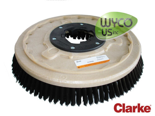 """51705A, OEM CLEANING BRUSH WITH MOUNTING CLUTCH (1), 17"""" POLYPRO, SCRUB"""