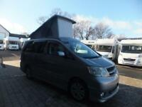 Toyota alphard conversion four berth campervan