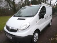 Vauxhall Vivaro 1.9 CDTI 6 SPEED SWB 2.9T 58K DIRECT BT 56 REG