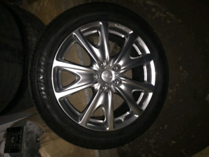 "18"" Infiniti G37 Sport wheels and tires"