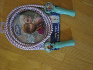 Disney Frozen Themed Skipping Rope & Giant Colouring Book