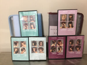 Hair Color, Cutting, Up Do + various hair related DVD's