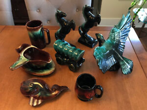 Canadian Pottery, Trays & Assorted Glassware