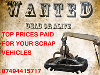 SCRAP CARS TOP PRICES PAID
