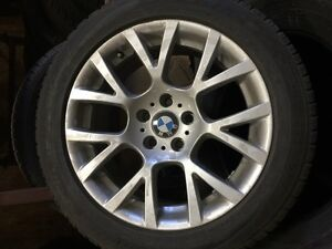 BMW 750i Winter snows on OEM Rims purchased from BMW