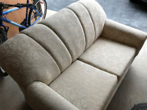 Love Seat Pull Out Couch - Off White