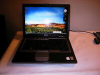 Used Dual Core Dell D620 Laptop with DVD and Wireless for Sale
