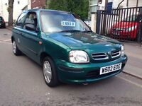 NISSAN MICRA CELEBRATION 1.0 PETROL. FULL MOT. STARTS AND DRIVE PERFECT. SUPER ECONOMICAL.