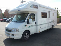 2006 Bessacarr E745 4 Berth, 4 seat Belts, Awning, Satellite Dome, Tow Bar