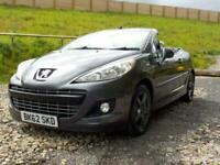2012 Peugeot 207 CC 1.6 HDi FAP Allure 2dr Convertible Diesel Manual