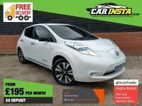 2016 Nissan Leaf (30kWh) Tekna 5dr Hatchback Electric Automatic