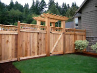 Wood Fence Specialists!  Available immediately!