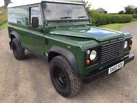 Land Rover td5 110 defender. 12 mths mot . 146000 miles