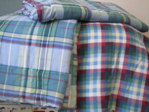 2 twin and 1 queen sized clean, gently used comforters