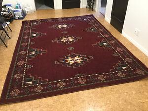 Tapis carpette 10 pi x 8 pi - style sud-ouest américain