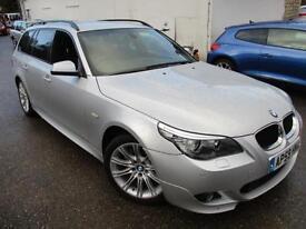2010 BMW 5 SERIES 520D M SPORT BUSINESS EDITION TOURING ESTATE DIESEL