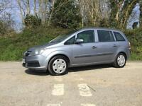 2005 55 VAUXHALL ZAFIRA 1.6 16V LIFE 7 SEATER VERY CLEAN CAR LOW MILEAGE
