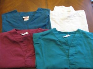 WHITE  CROSS  /  LAC  MAC  /  ANGELICA  -  SCRUB  TOPS