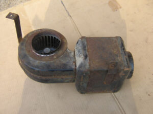 Old style car/ truck heater with 6v fan.